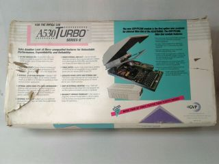 Gvp Great Valley Products A530 Turbo 40mhz For Amiga 500 Accelerator