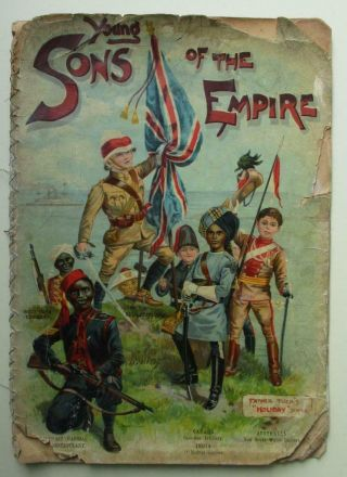 1880s British Empire Children In Worldwide Uniforms Military&police Raphael Tuck
