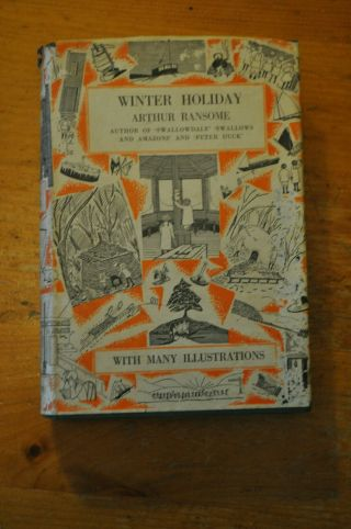 Winter Holiday - Arthur Ransome - Jonathan Cape 1933