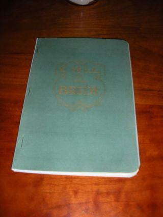 """ The Call Of The Bride "" 1916 - 1920 Watchtower C.  T.  Russell Bible Students Ibsa"
