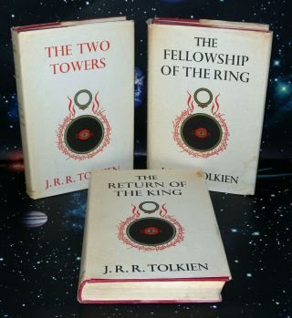 The Lord Of The Rings - 3 Volume Set,  J.  R.  R.  Tolkien,  Hb/dj,  1st Ed 11th & 14 Imp