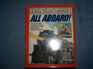 All Aboard By Ron Hollander/1st Ed/hcdj/biography/business/toys