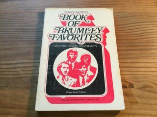 "Vtg Songbook "" Book Of Brumley Favorites "" (1946 - Paperback) Stamps - Baxter Music"