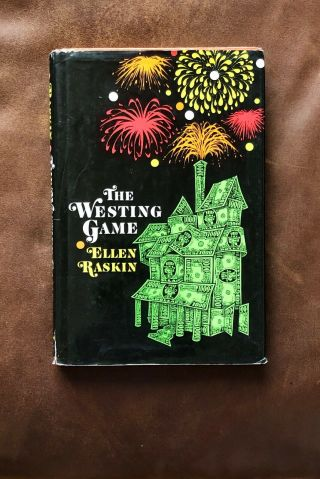 The Westing Game By Ellen Raskin Hardcover 1st Edition 1978