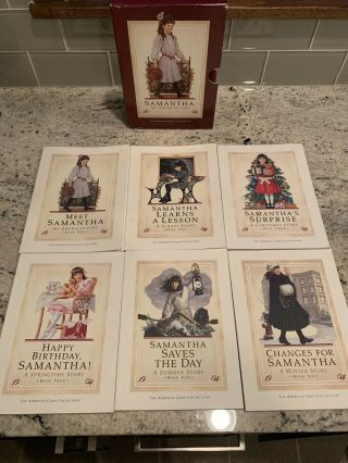 Samantha An American Girl Book Series Boxed Set 6 Books Vintage First Edition
