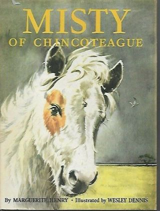 U7 - 1953 Hc/dj Edition H - Misty Of Chincoteague By Marguerite Henry