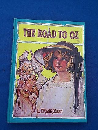 The Road To Oz Hardcover Book 1909 L Frank Baum The Wizzard Of Oz Blue Hardcover