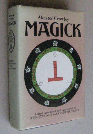 Aleister Crowley Magick Book Club Ed 1986