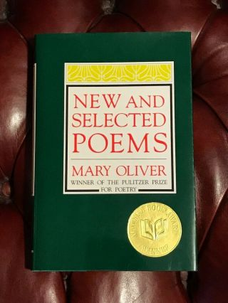 And Selected Poems By Mary Oliver Signed First Edition National Book Award