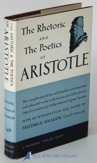 The Rhetoric And Poetics Of Aristotle Near Fine Modern Library Hc,  Vg,  83109
