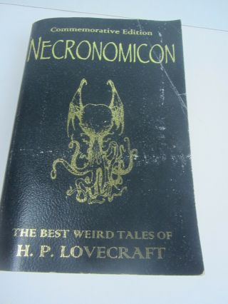 Necronomicon By H.  P.  Lovecraft Commemorative Deluxe Leather Bound Edition