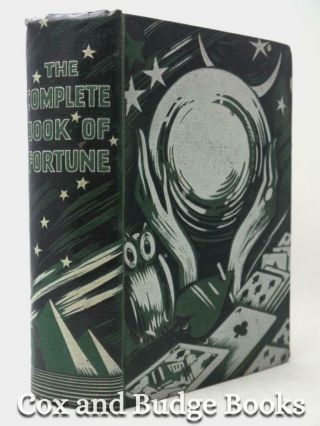 The Complete Book Of Fortune Tarot,  Tea - Leaves,  Dreams,  Florigraphy 1925 1st Hb
