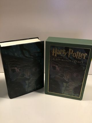 J.  K.  Rowling Harry Potter And The Half - Blood Prince Signed First U.  S.  Deluxe
