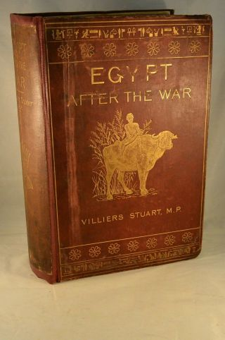 Egypt After The War 1883 With Color Illustrations Narrative Of A Tour Color Illu