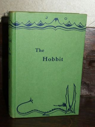 1965 The Hobbit By Jrr Tolkien - 2nd Edition 15th Impression - Lotr Lord Of Rings