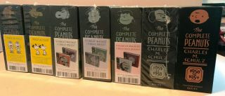 The Complete Peanuts:1950 - 1978 By C.  Rosner/ 7 Vol Set/ Reprint/ 2014