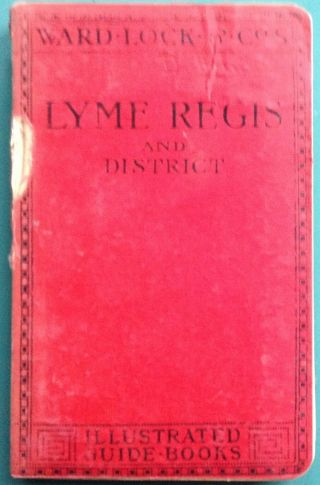 Ward Lock Red Guide - Lyme Regis And District 4th Ed Revised Vintage 1910