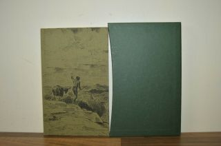 Travels With A Donkey In The Cevennes - R L Stevenson Folio Society 2013 (f4)