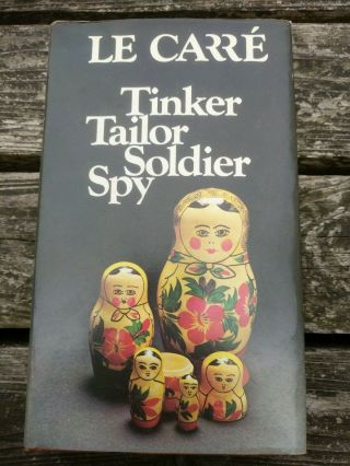 Tinker,  Tailor,  Soldier,  Spy John Le Carre Bca First Edition 1974