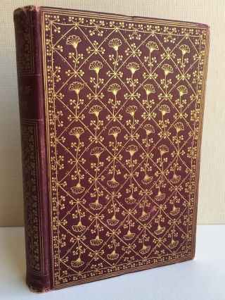 Antique The Early Poems Of John Greenleaf Whittier 1890s Crowell & Co.  Poetry Hc