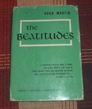 1953 The Beatitudes Hugh Martin British Order Of The Companions Of Honour Hc/dj