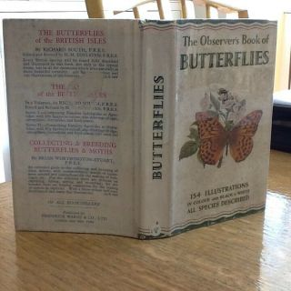 Observers Book Of Butterflies 1955: