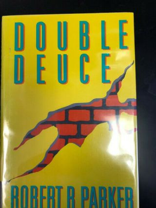 Double Deuce Robert B Parker Signed First Edition