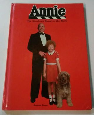 Annie Storybook Based On The Movie Random House Columbia Pictures Vintage 1982