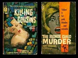 Ace Mystery Double F - 115.  Killing Cousins / The Blonde Cried Murder 150294