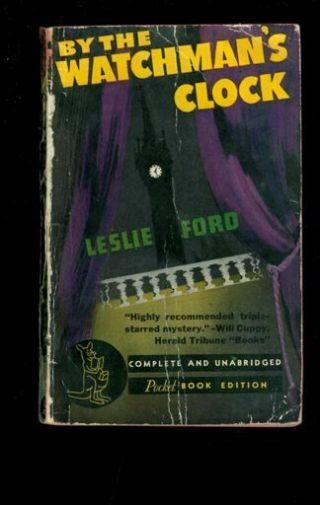 Paperback.  Leslie Ford: By The Watchman