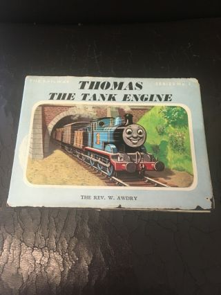 Vintage 1970 Thomas The Tank Engine Hardback Book By The Rev W.  Awdry.