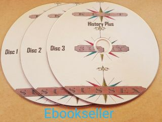 Kent Surrey & Sussex History Church Directories In 250,  Pdf Ebooks On 3 Discs