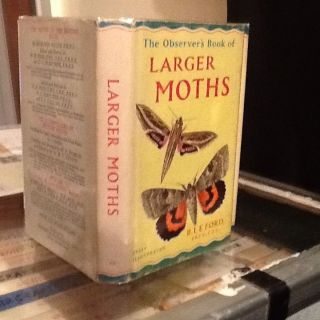 Observers Book Of Larger Moths 1963