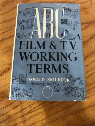 Vintage Book: Abc Of Film And Tv Terms By Skilbeck (box 4)