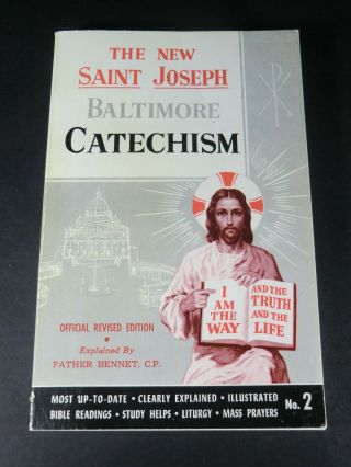 St Joseph Baltimore Catechism - Official Revised Edition No.  2 - Vintage
