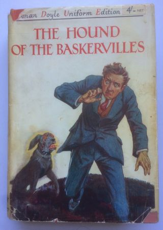 The Hound Of The Baskervilles Sherlock Holmes A Conan Doyle Early Edition 1934