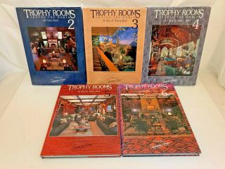 Trophy Rooms Around The World Idea Books Sherman Himes 2 - 6 Hardcover