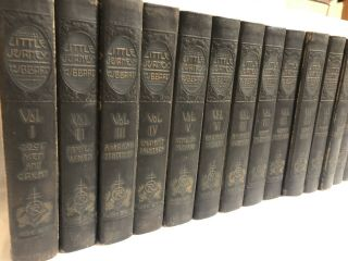 Little Journeys Elbert Hubbard,  14 Vol Set,  1916 Memorial Edition Signed