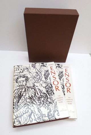 James Ensor The Complete Graphic Work 2 Volume Set With Slipcase James N Elesh