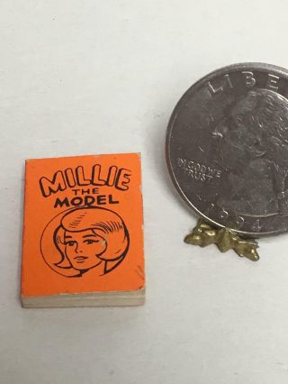 Vintage 1966 Marvel Mini Books Millie The Model