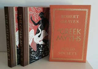 The Greek Myths By Robert Graves (folio Society Boxed Set - Volumes 1 & 2)