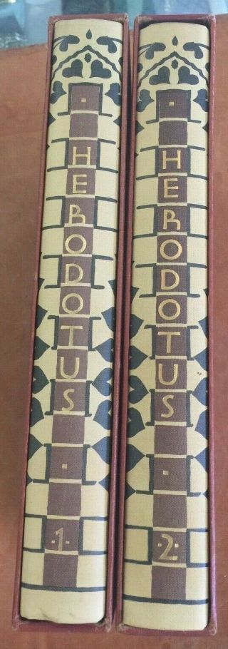 Histories Of Heroduts Heritage Press 1958 2 Vols In Slipcase