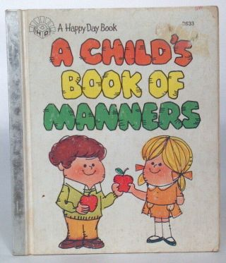 Vintage 1980 Happy Day Book A Child