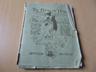 Scarce Vintage Sewing Book Of Hows Mrs Loch Needlework C1910