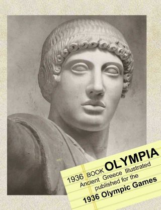 Olympia 1936 Book About Ancient Greece Published For The Olympic Games 148 Pict.