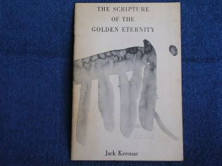 Jack Kerouac/the Scripture Of The Golden Eternity/totem Press/1960/1st Edition