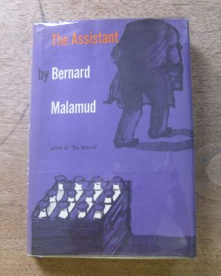 The Assistant By Bernard Malamud 1st/1st Hcdj 1957 - Farrar - $3.  50