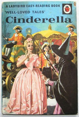 Vintage Ladybird Book - Cinderella - Well Loved Tales 606d - 24p Good/very Good
