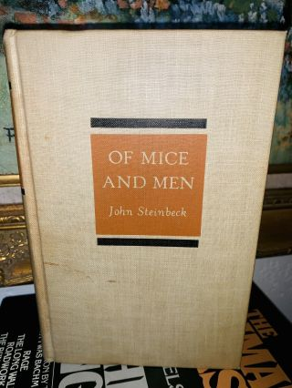 John Steinbeck Of Mice And Men Vintage 1937 1st Edition Hardcover
