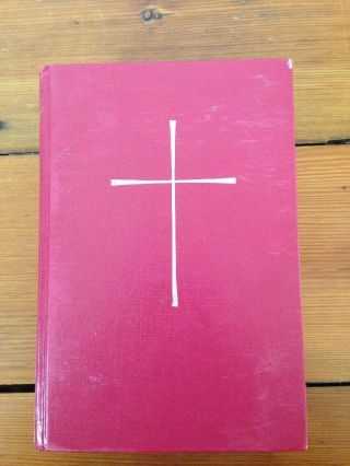 Episcopal Church Proposed Book Of Common Prayer Sacrament Ceremony Instructional